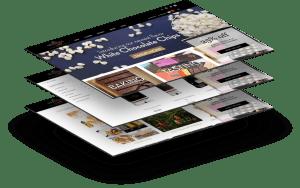 Website for Valrhona
