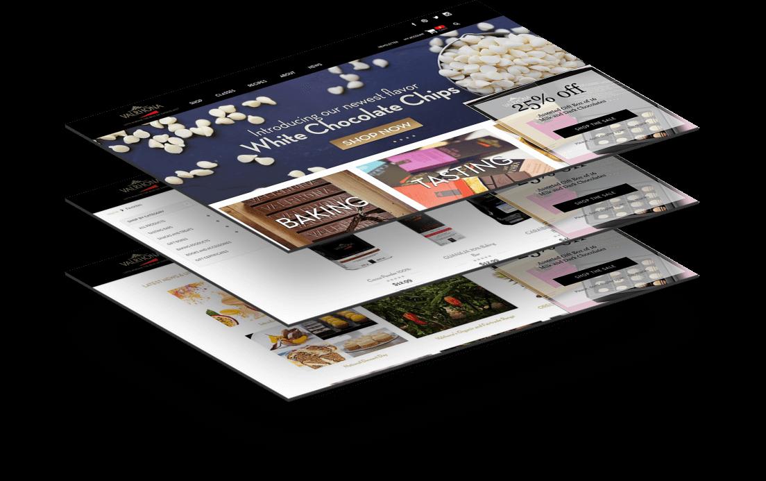 Valrhona Website Mockup Gramercy