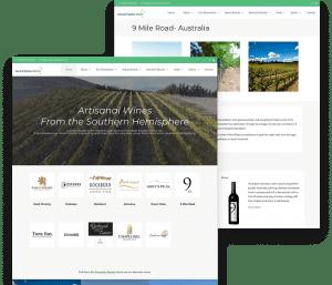 Website for Austral Estates porfolio