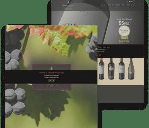 Website for Don Cristobal Winery porfolio