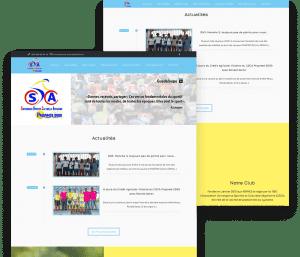 Website for Cycling 2000 porfolio