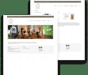 Website for Hair Kuwayama porfolio