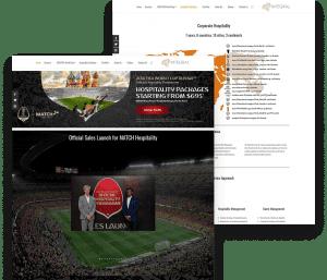 Website for Integral portfolio